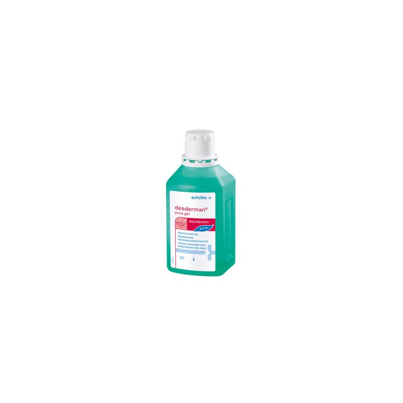 dezynfekcja rąk - desderman pure gel 500 ml