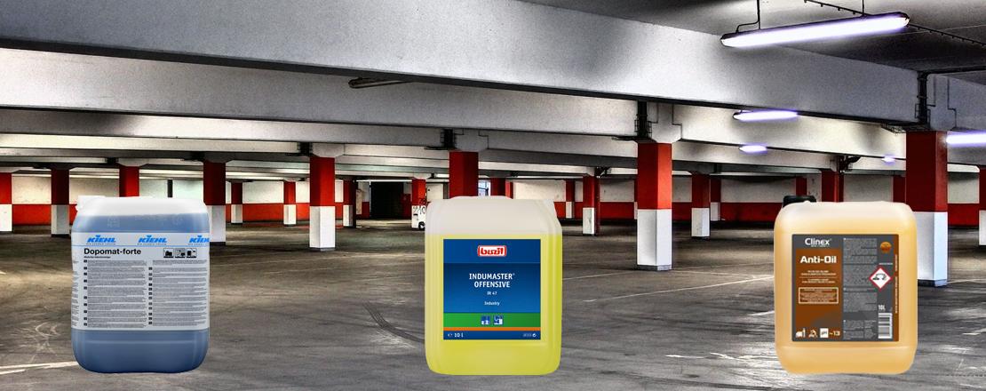 Chemia do czyszczenia parkingów i garaży